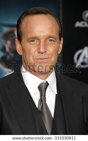 "Clark Gregg at the Los Angeles premiere of ""The Avengers"" held at the El Capitan Theater in Hollywood, USA on April 11, 2012."