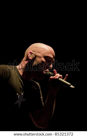 CLARK, NJ - SEPT 16: Ed Kowalczyk performs at the Union County Music Fest on September 16, 2011 in Clark, NJ. Kowalczyk was the lead singer and primary songwriter for the band Live.