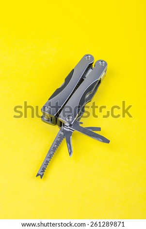clasp knife, penknife - stock photo