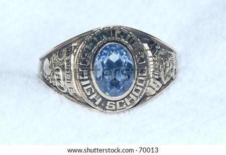 Class Ring - stock photo
