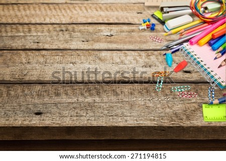 Class, school, isolated. - stock photo