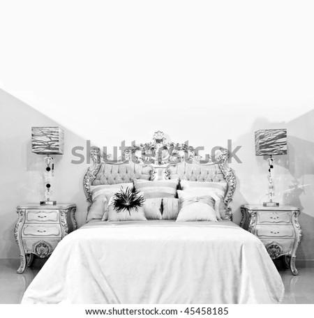 Classic Bedroom - stock photo