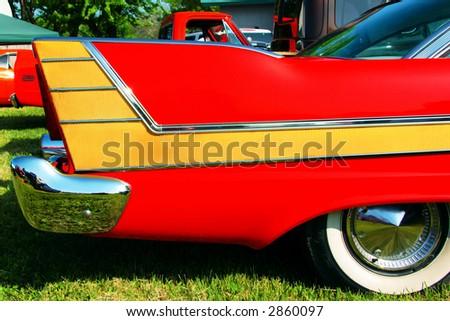 Classic Car - stock photo