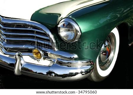 Classic Custom Car - stock photo