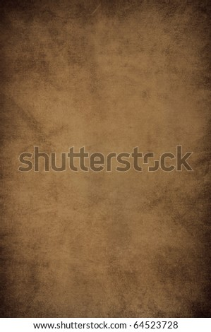 classic dark brown vintage paper background - stock photo