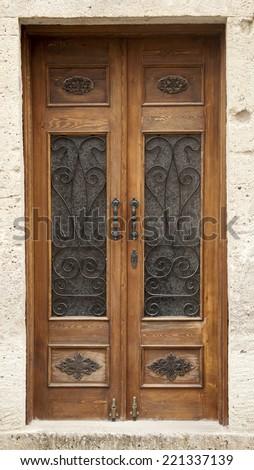 Old Fashioned Ornate Elevator Doors