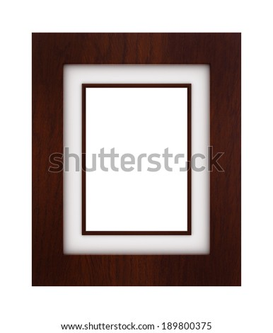 Classic frame - stock photo