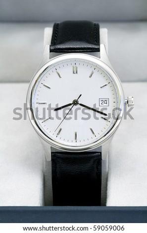 Classic hand watch - stock photo