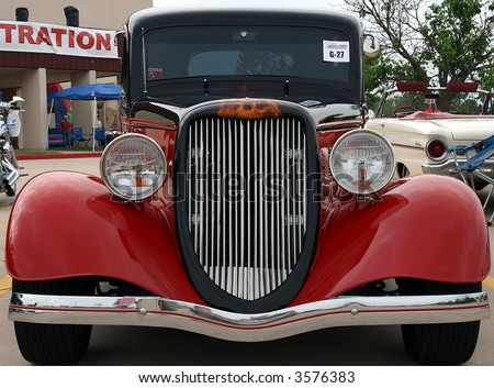 Classic Hot Rod - stock photo