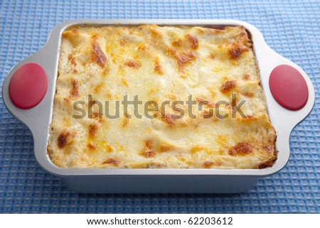 classic lasagna - stock photo