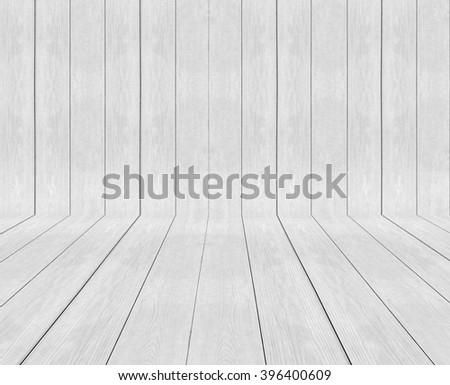 Classic Light White Panel Wood Plank Texture Background for Furniture Material and Room Interior - stock photo