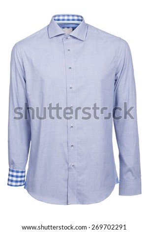 classic long sleeve violet shirt