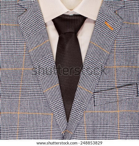 classic men's clothing - stock photo