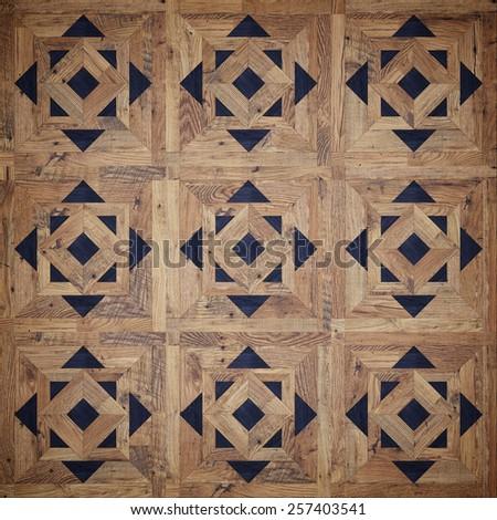 Classic parquet texture - stock photo
