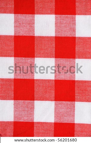 Classic picnic table texture / pattern - stock photo