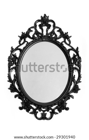 Classic picture frame - stock photo