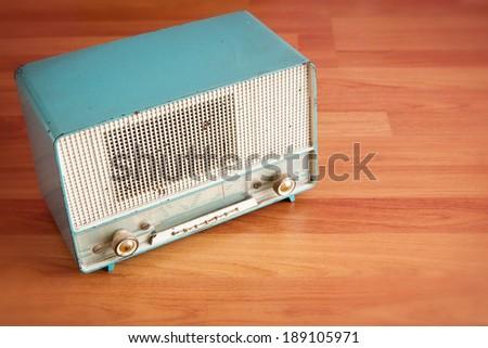 Classic radio - stock photo