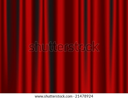 classic red curtain image - vector version also available in portfolio