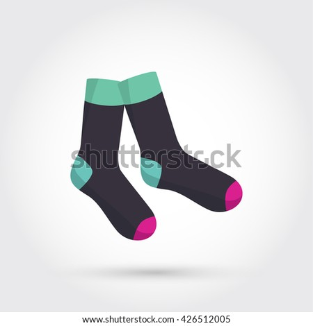 Classic socks - stock photo