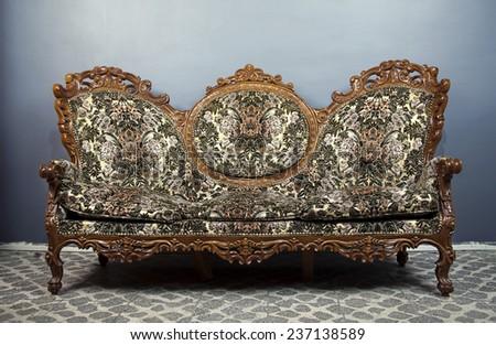 Classic Sofa - stock photo