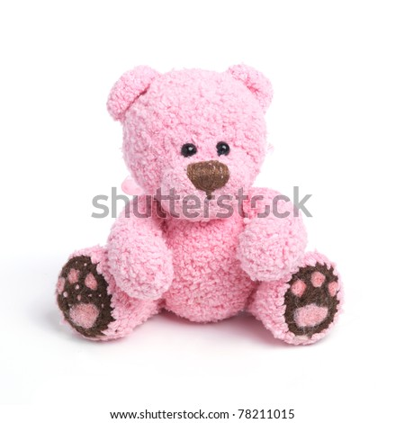 Classic teddy bear - stock photo