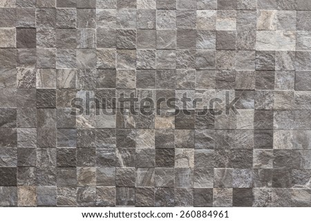 classic tile wall texture for interior - stock photo