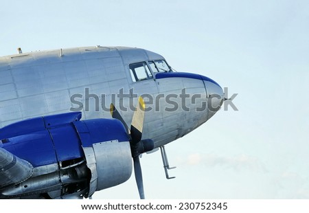 Classic transport from a past era - stock photo