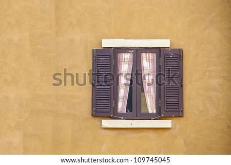classic window - stock photo