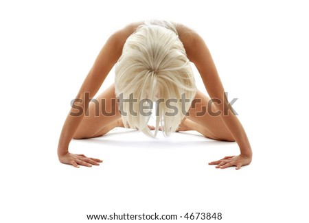 classical artistic nudity style picture of woman