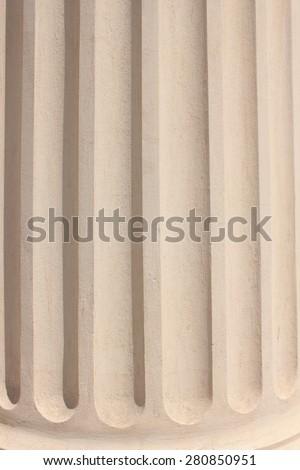Classical Column style - stock photo