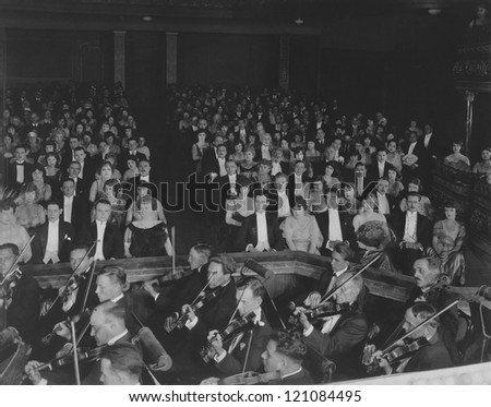 Classical concert - stock photo