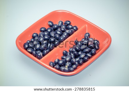 classical food--bean - stock photo