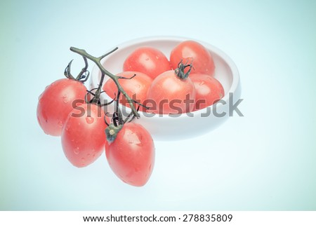 classical food--tomato - stock photo