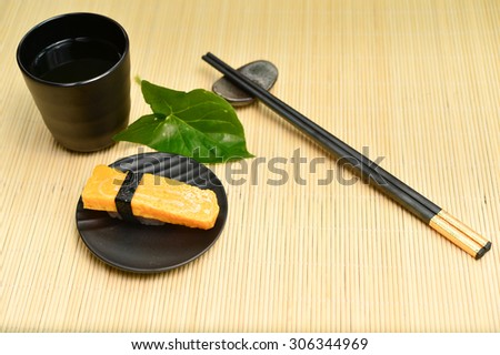 classical japanese food- sushi
