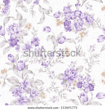 Classical style pattern seamless background - For easy making seamless pattern use it for filling any contours - stock photo