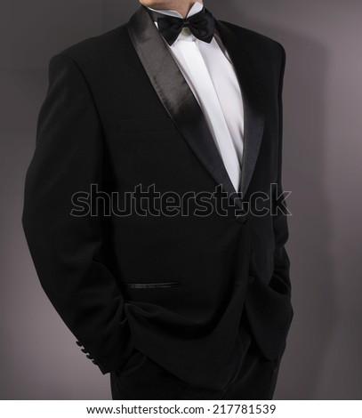 Classical Tuxedo.Fashion - stock photo