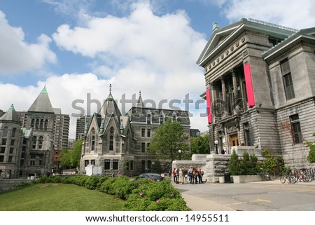 Classical University Buildings - stock photo