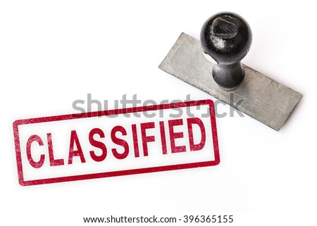 classified text sign label stamp. - stock photo