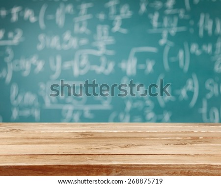 Classroom, school, book. - stock photo