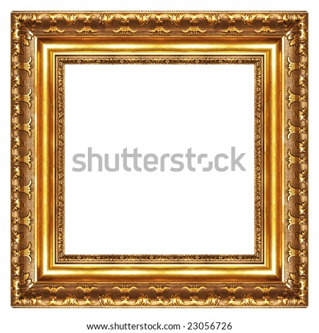 Classy Gilded Frame Square Shape Stock Photo 23056726 ...