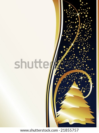 Classy holiday background inspired by new years eve celebrations. - stock photo