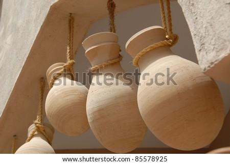 Clay Pottery - stock photo