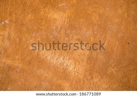 Clay wall background, Thailand - stock photo