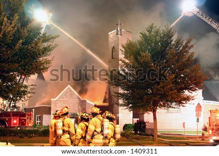 CLC fire - stock photo