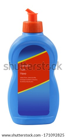 cleaing product packaging - stock photo