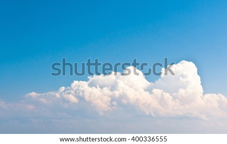 Clean Air Cloudy Outdoor  - stock photo