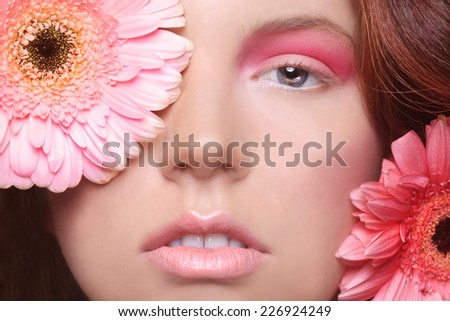 Clean Beauty Image of a Pretty Woman