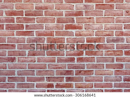 Clean brick wall texture or background