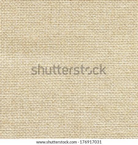 Clean burlap texture - stock photo