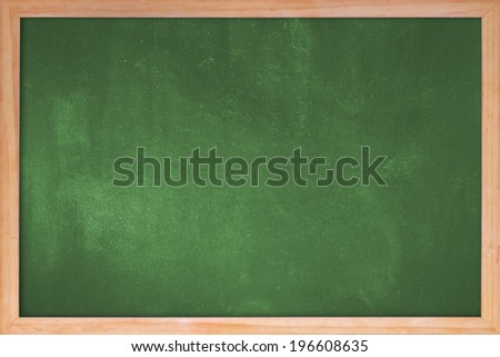 Clean chalk board  for advertisement - stock photo